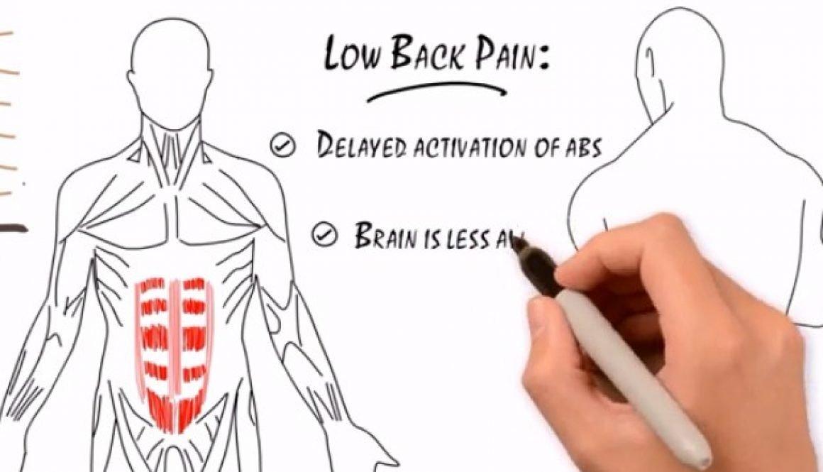 low back pain illustration